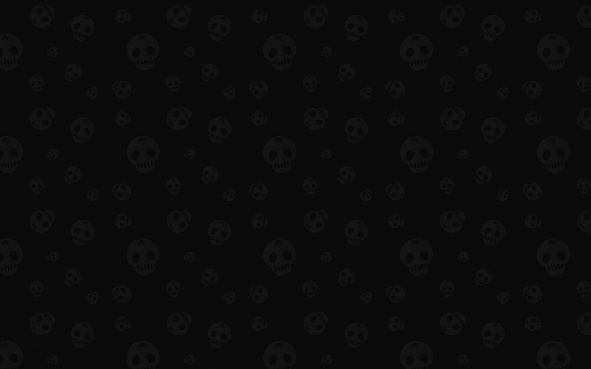 Star Skull Pattern Wallpaper for Desktop 1920x1200