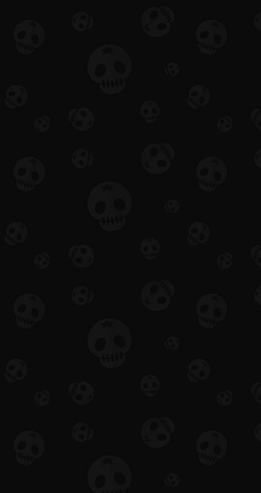Star Skull Pattern Wallpaper for Apple iPhone 6 / 6s