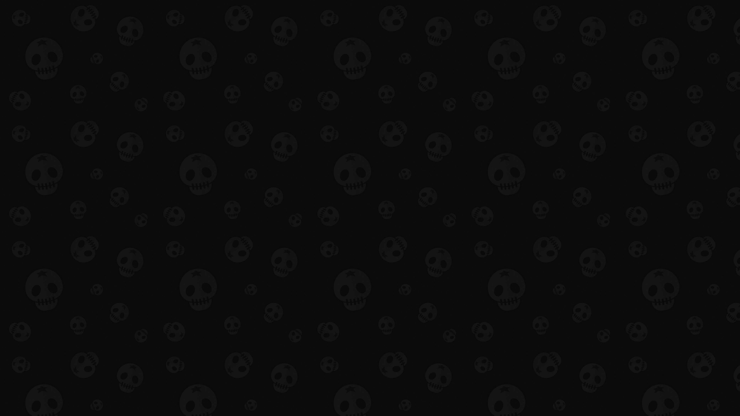 Star Skull Pattern Wallpaper for Social Media YouTube Channel Art