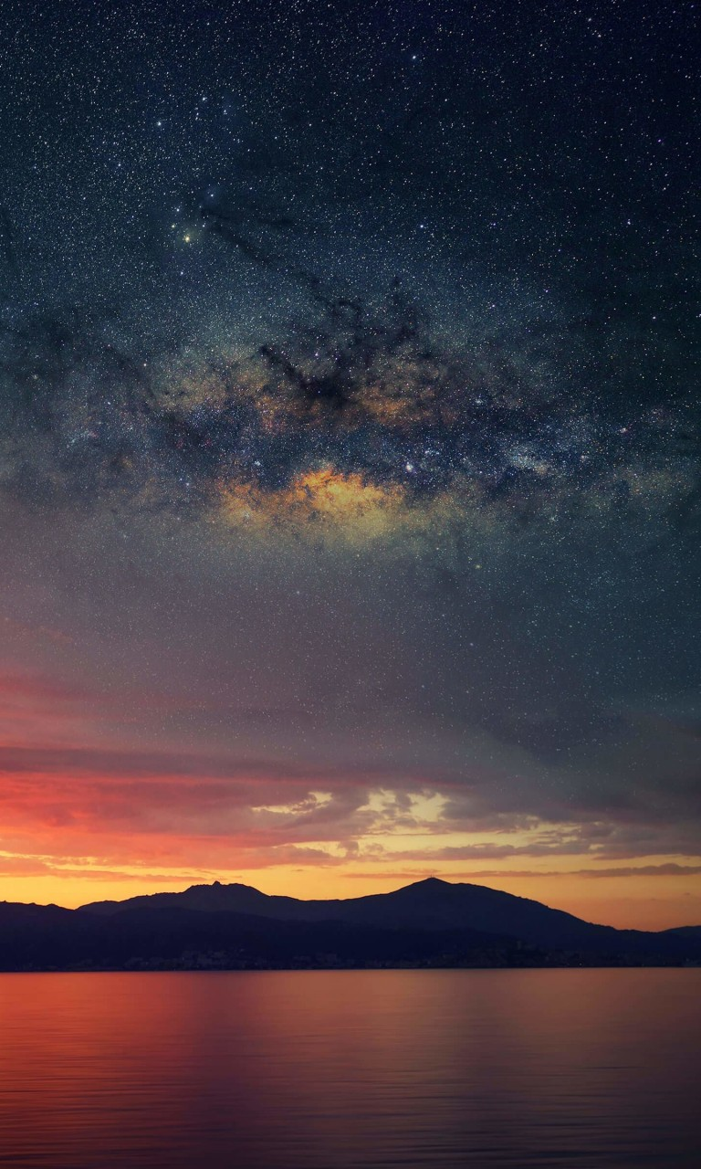 Starry Night Over Corsica Wallpaper for Google Nexus 4