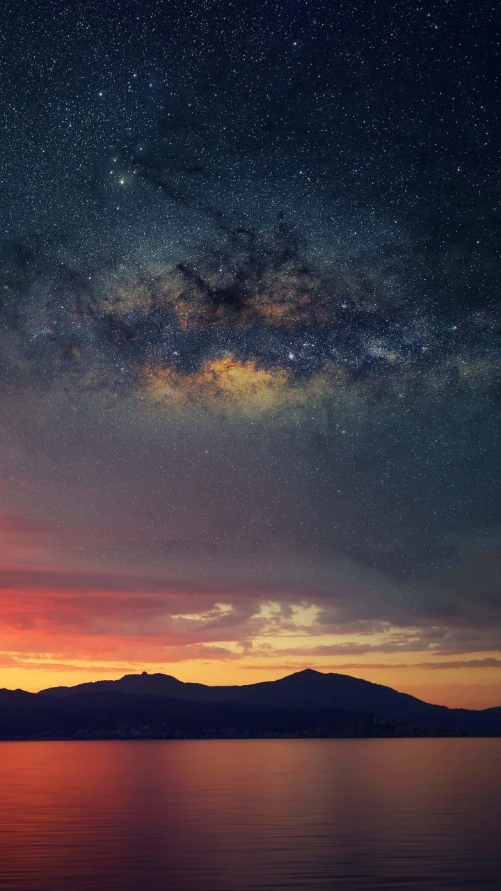 Starry Night Over Corsica Wallpaper for Xiaomi Redmi 1S