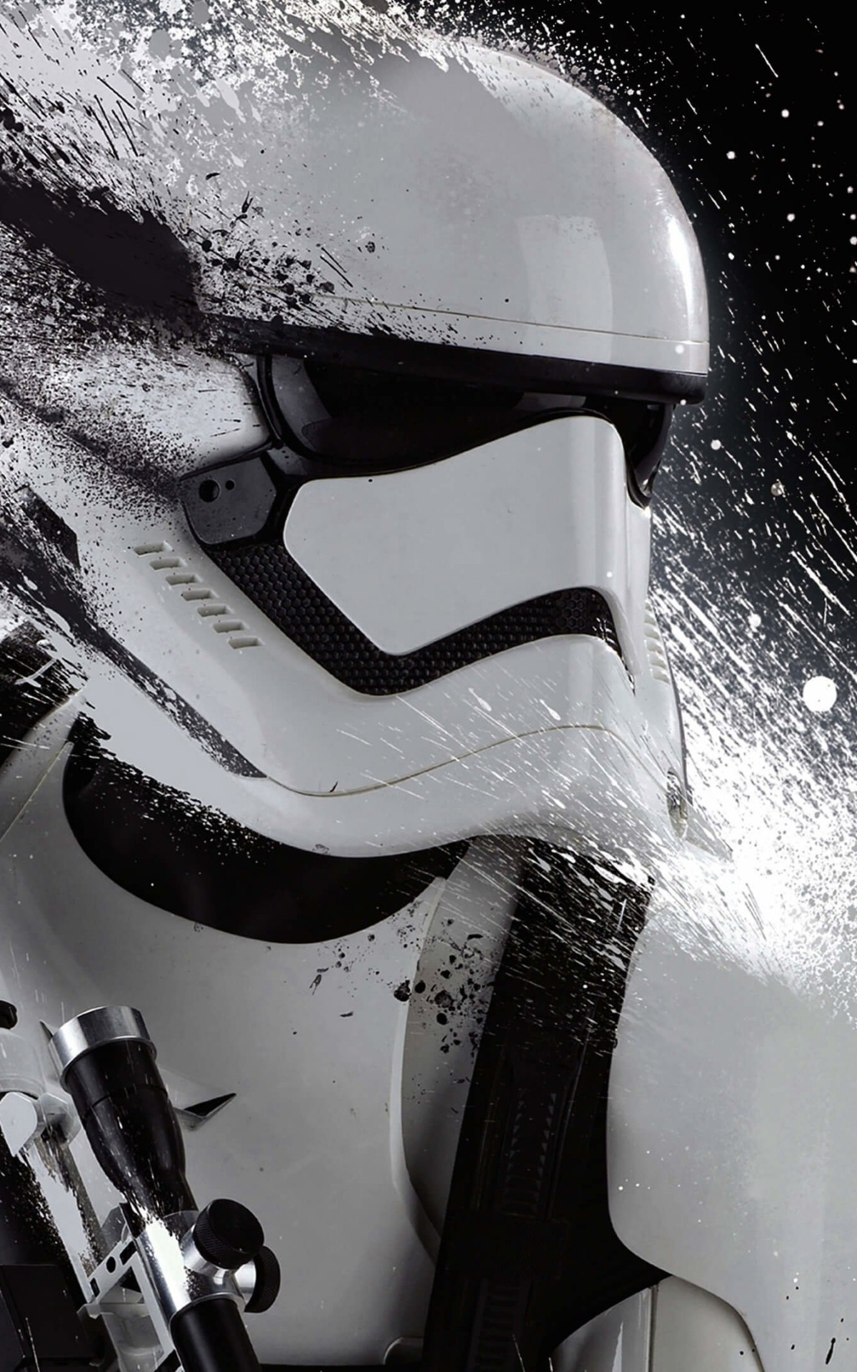 Stormtrooper Splatter Wallpaper for Amazon Kindle Fire HDX