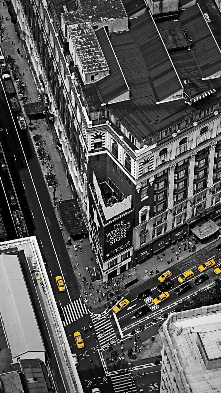 Streets of New York City Wallpaper for SAMSUNG Galaxy Note 2