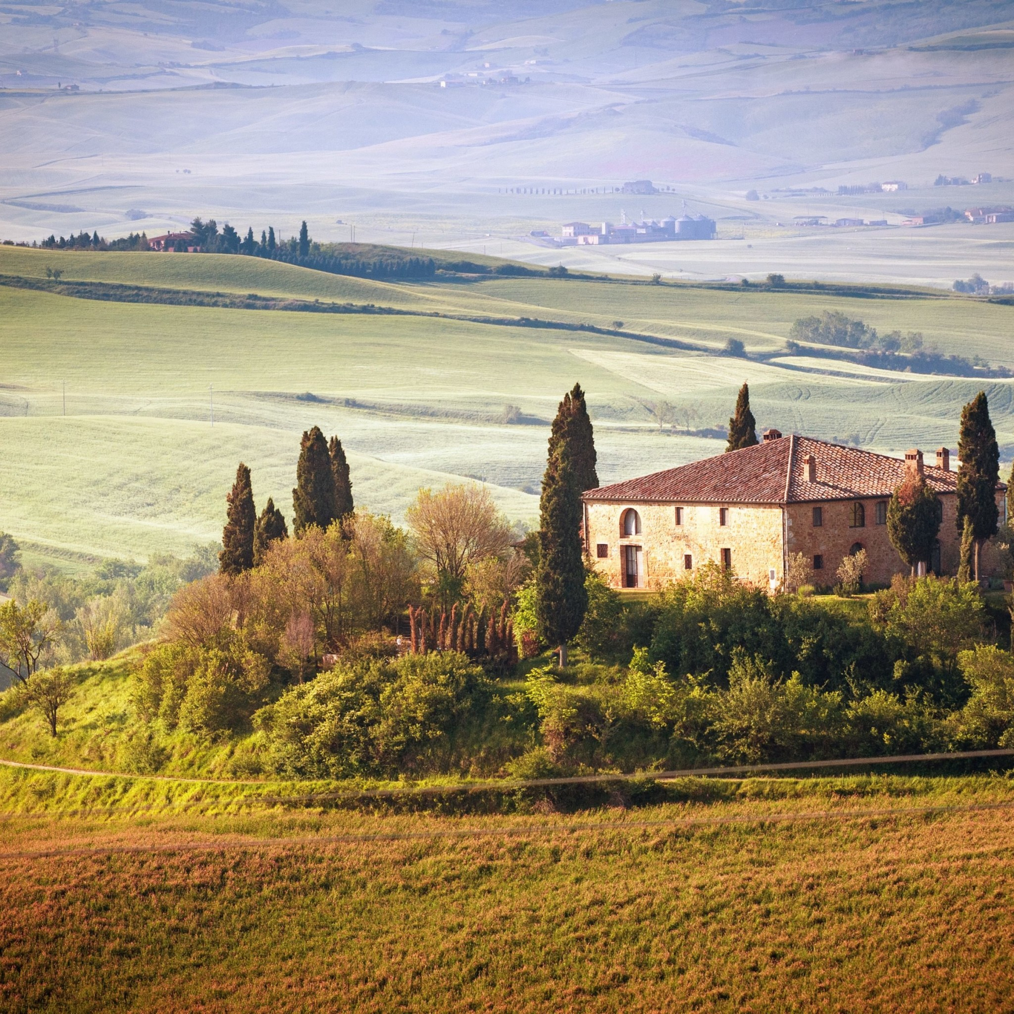 Summer in Tuscany, Italy Wallpaper for Google Nexus 9