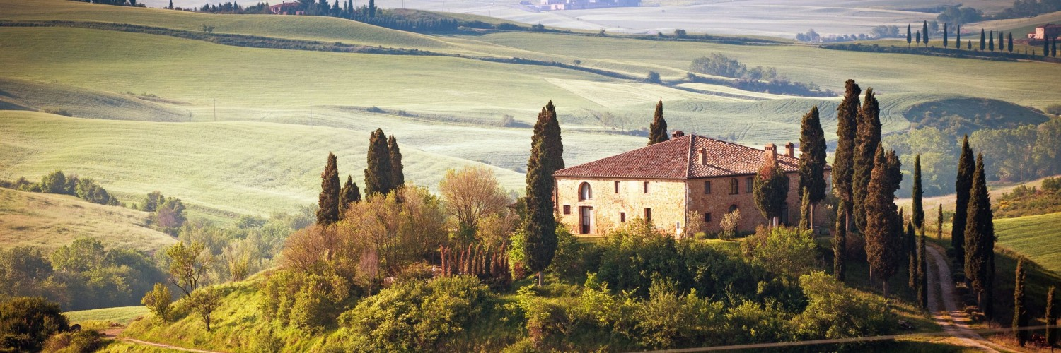 Summer in Tuscany, Italy Wallpaper for Social Media Twitter Header