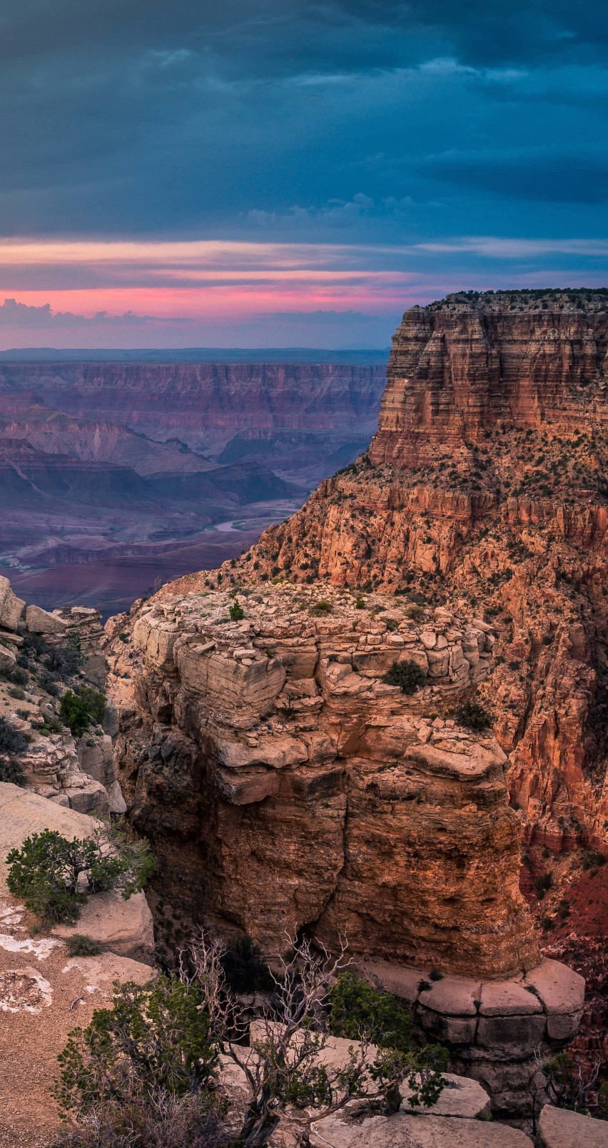Sunset At The Grand Canyon Wallpaper for Apple iPhone 6 / 6s