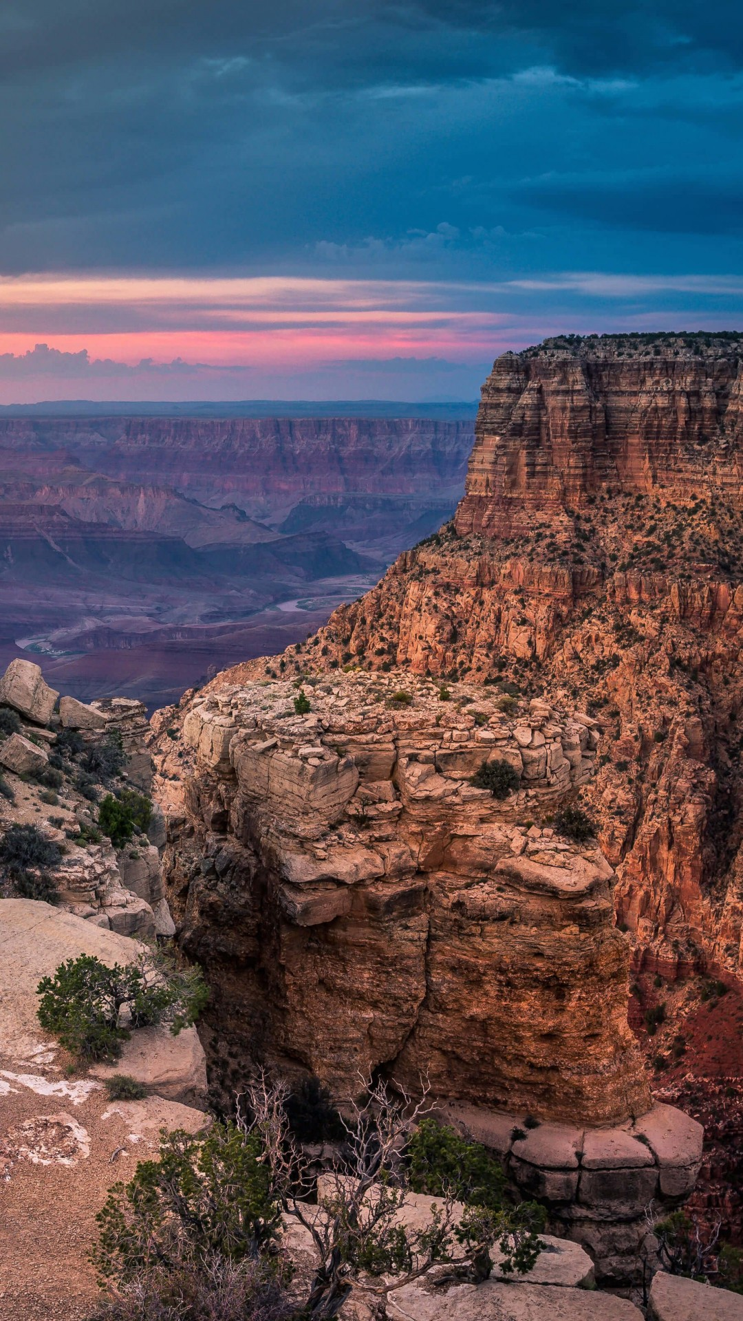 Sunset At The Grand Canyon Wallpaper for SONY Xperia Z2