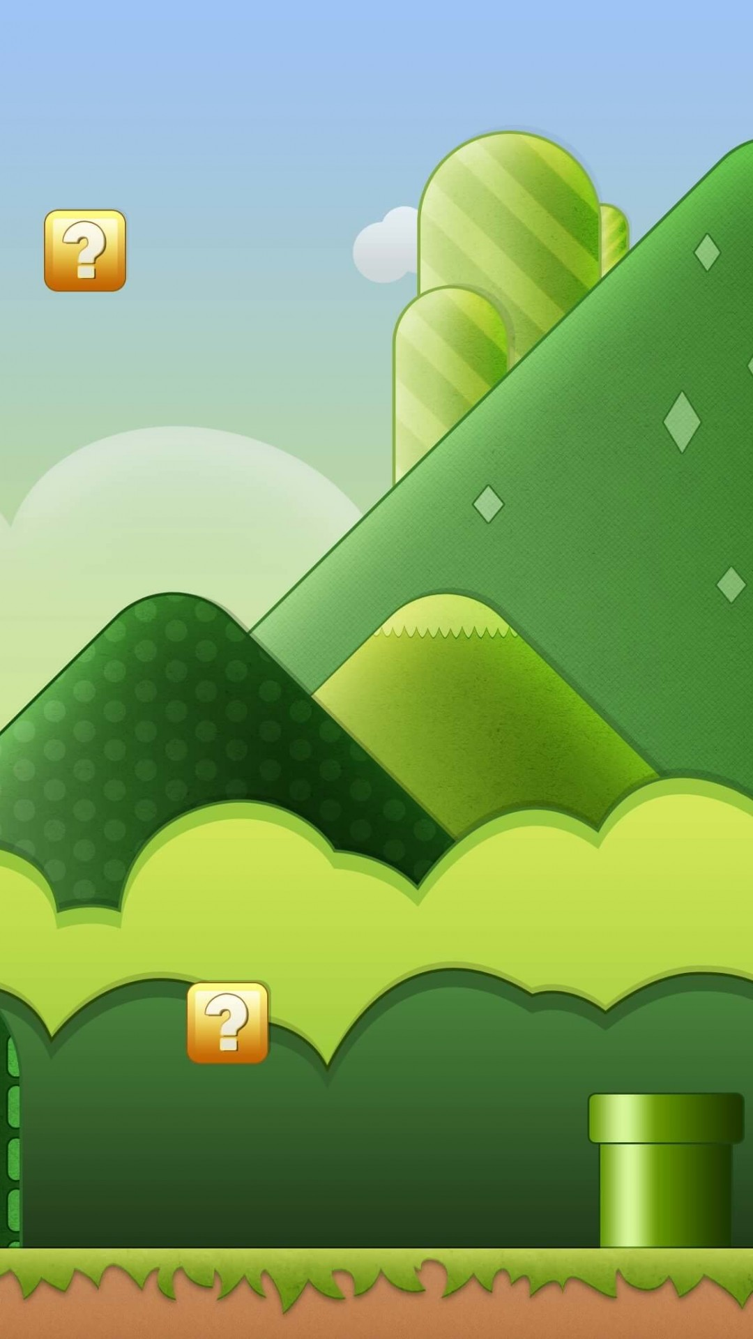 Super Mario Bros World Wallpaper for HTC One