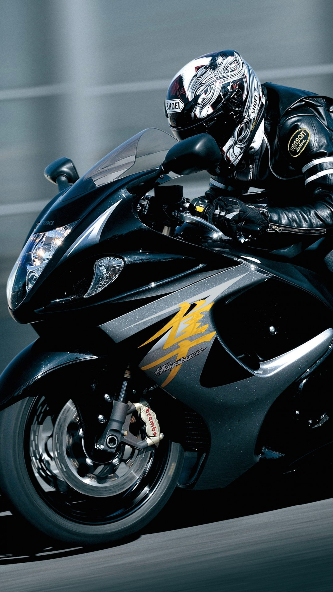 Suzuki Hayabusa GSX 1300R Wallpaper for HTC One