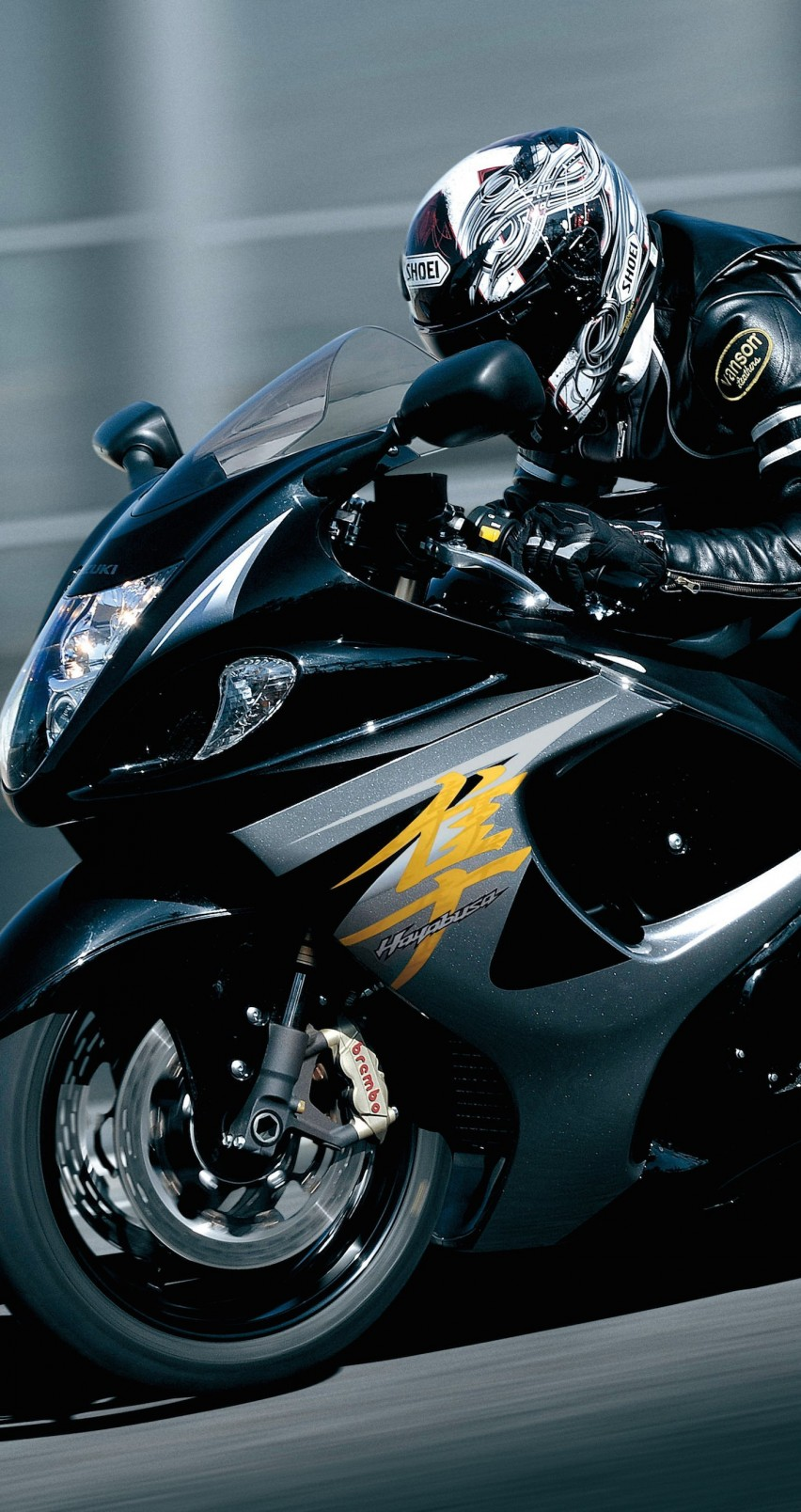 Suzuki Hayabusa GSX 1300R Wallpaper for Apple iPhone 6 / 6s