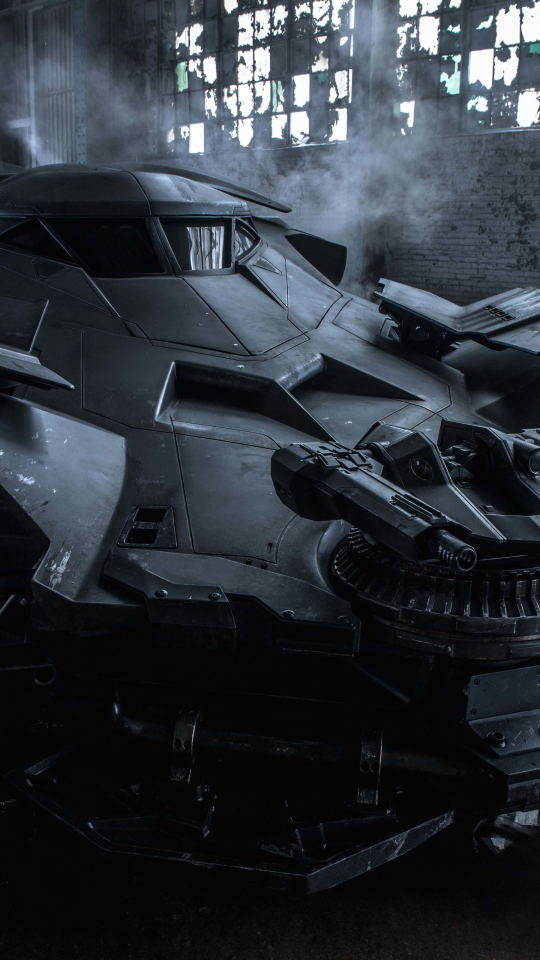 The Batman v Superman Batmobile Wallpaper for Google Nexus 5X