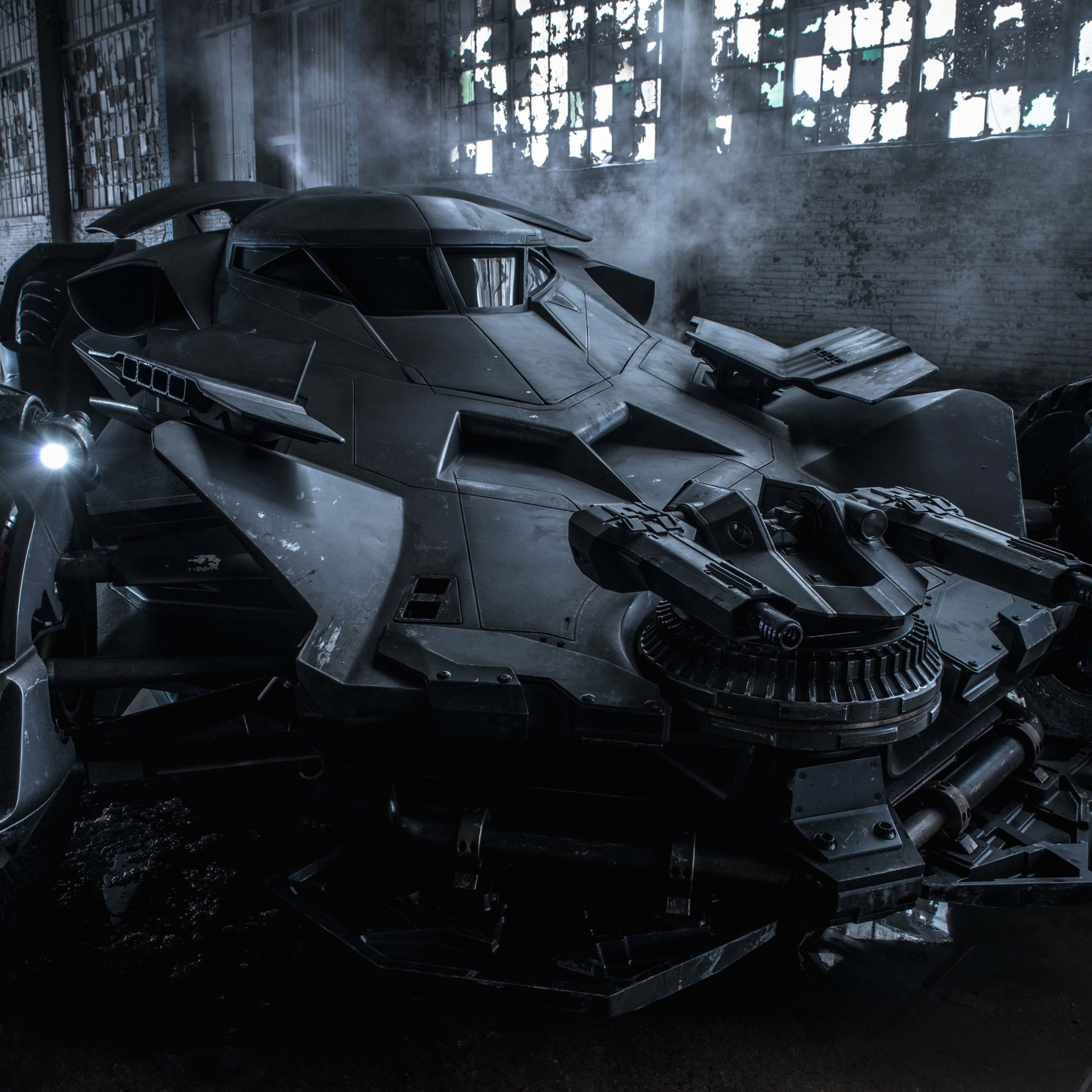 The Batman v Superman Batmobile Wallpaper for Google Nexus 9