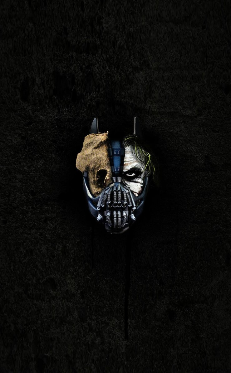 The Dark Knight Trilogy Wallpaper for Apple iPhone 4 / 4s