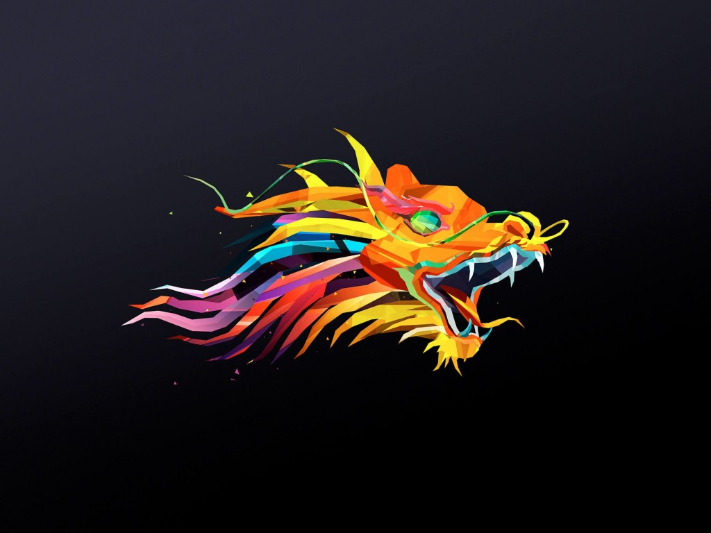The Dragon Wallpaper for Desktop 1024x768