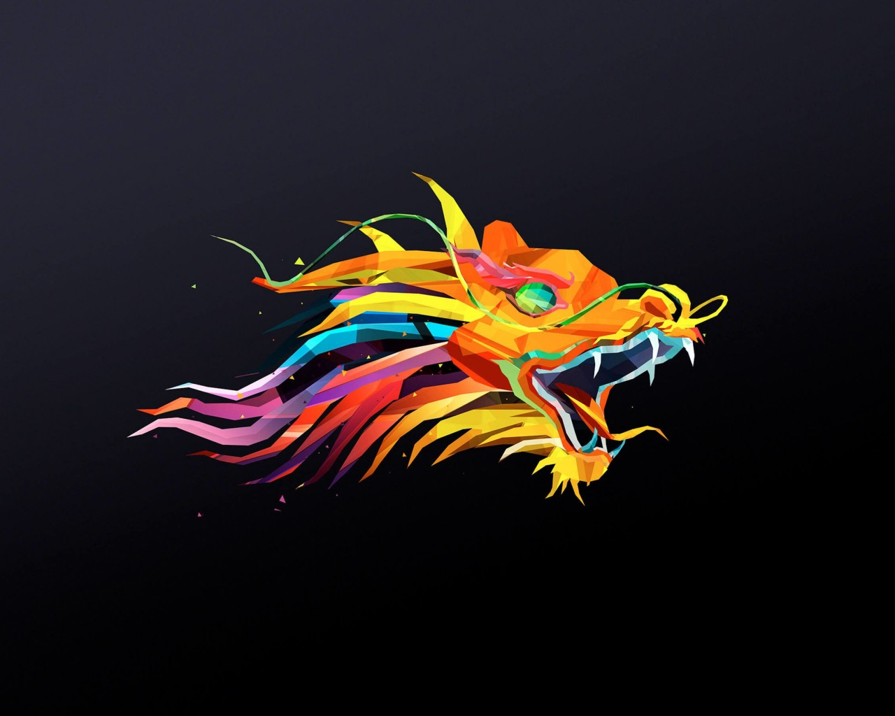 The Dragon Wallpaper for Desktop 1280x1024