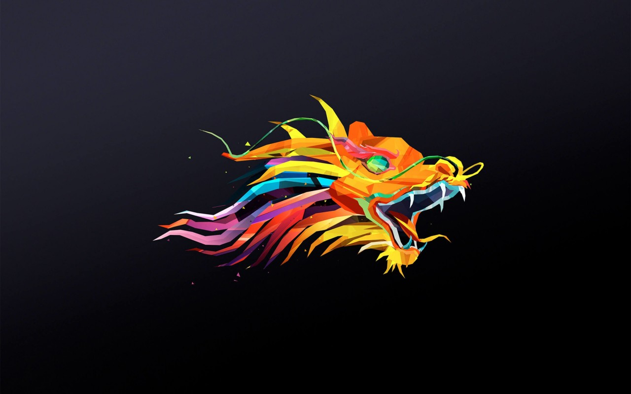 The Dragon Wallpaper for Desktop 1280x800