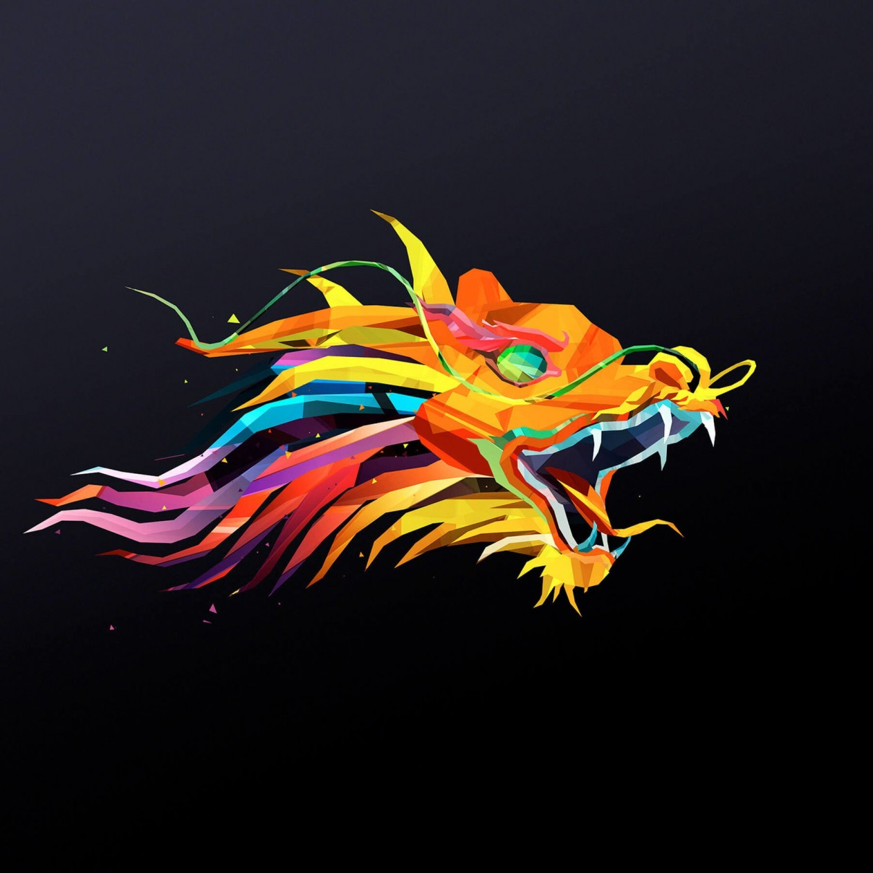 The Dragon Wallpaper for Apple iPad mini