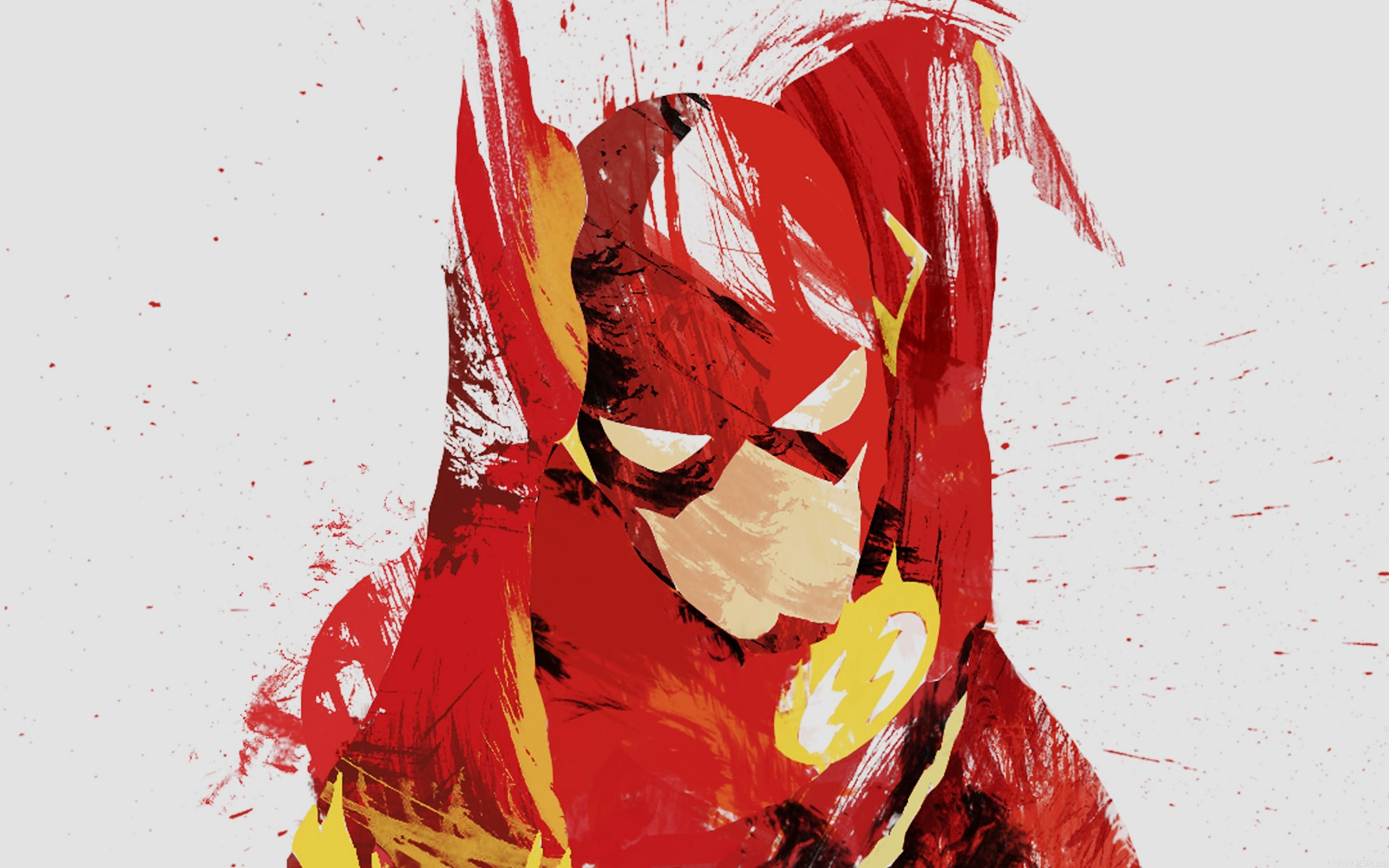 The Flash Illustration Wallpaper for Desktop 2560x1600