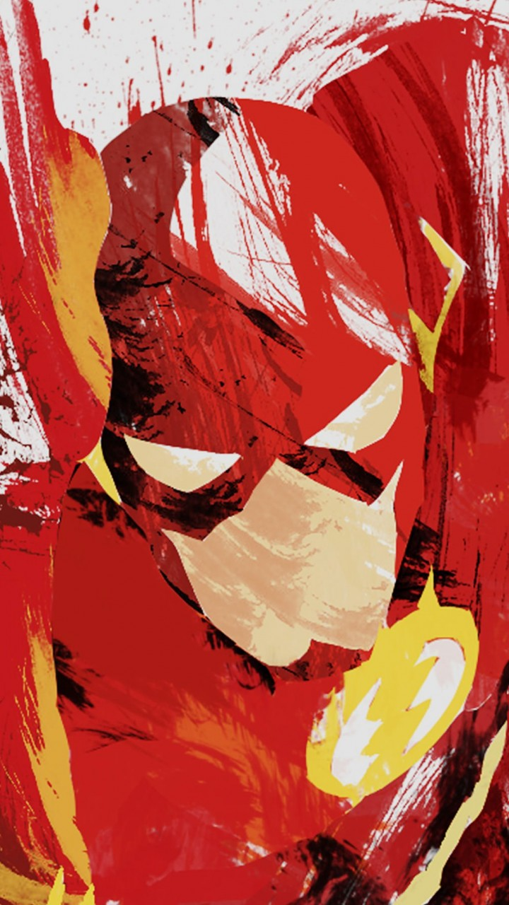 The Flash Illustration Wallpaper for HTC One mini