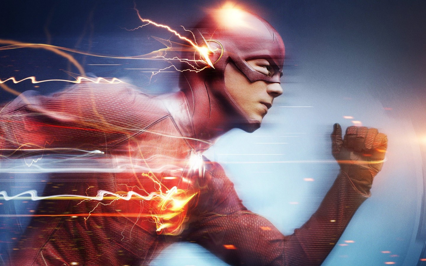 The Flash Wallpaper for Desktop 1440x900