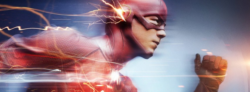 The Flash Wallpaper for Social Media Facebook Cover