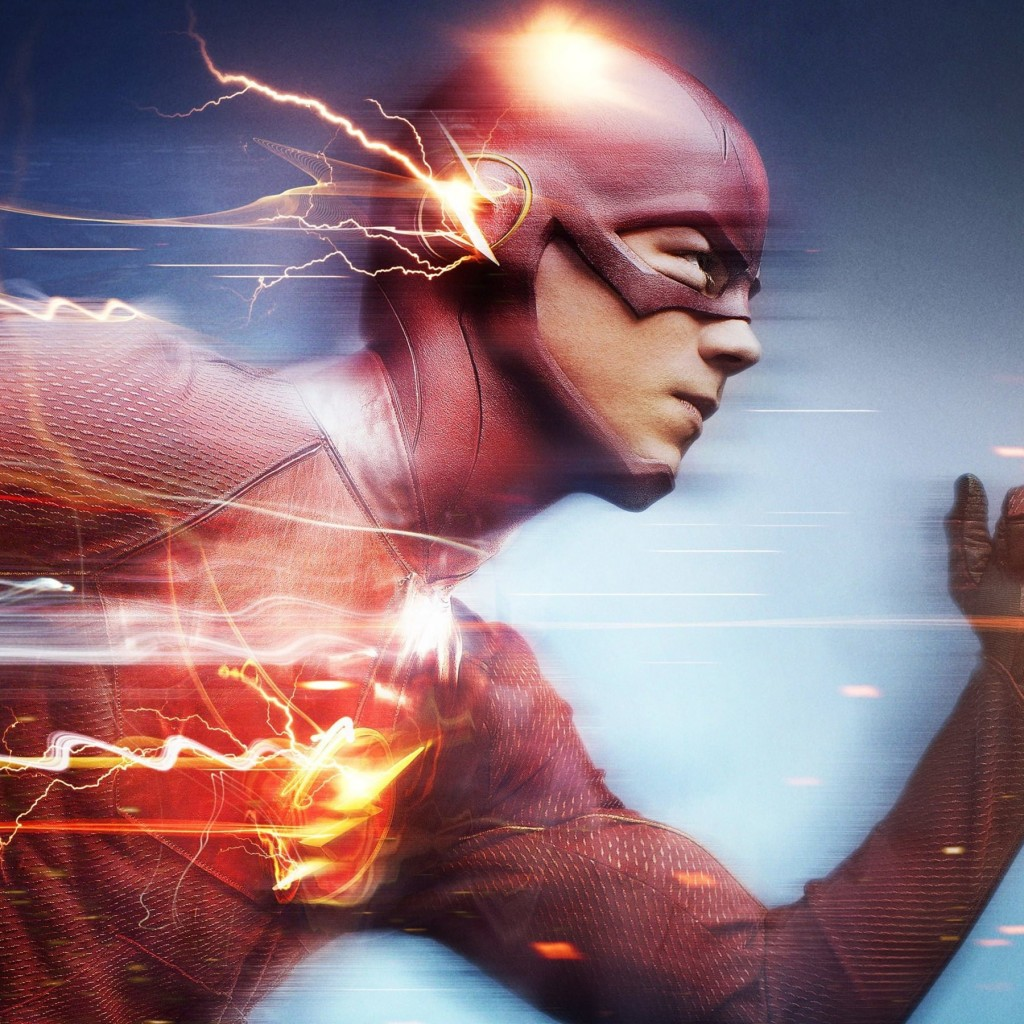 The Flash Wallpaper for Apple iPad