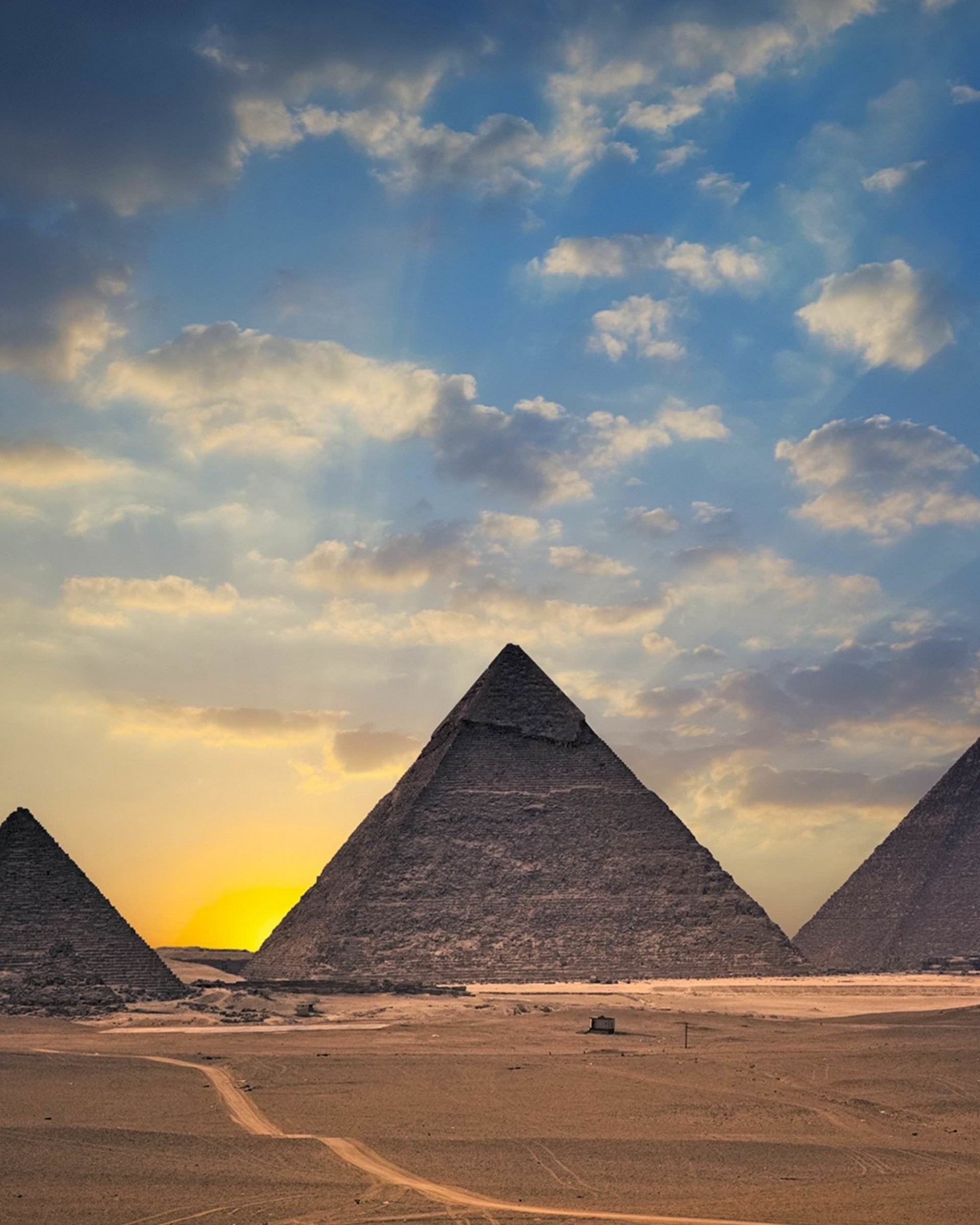 The Great Pyramids of Giza Wallpaper for Google Nexus 7