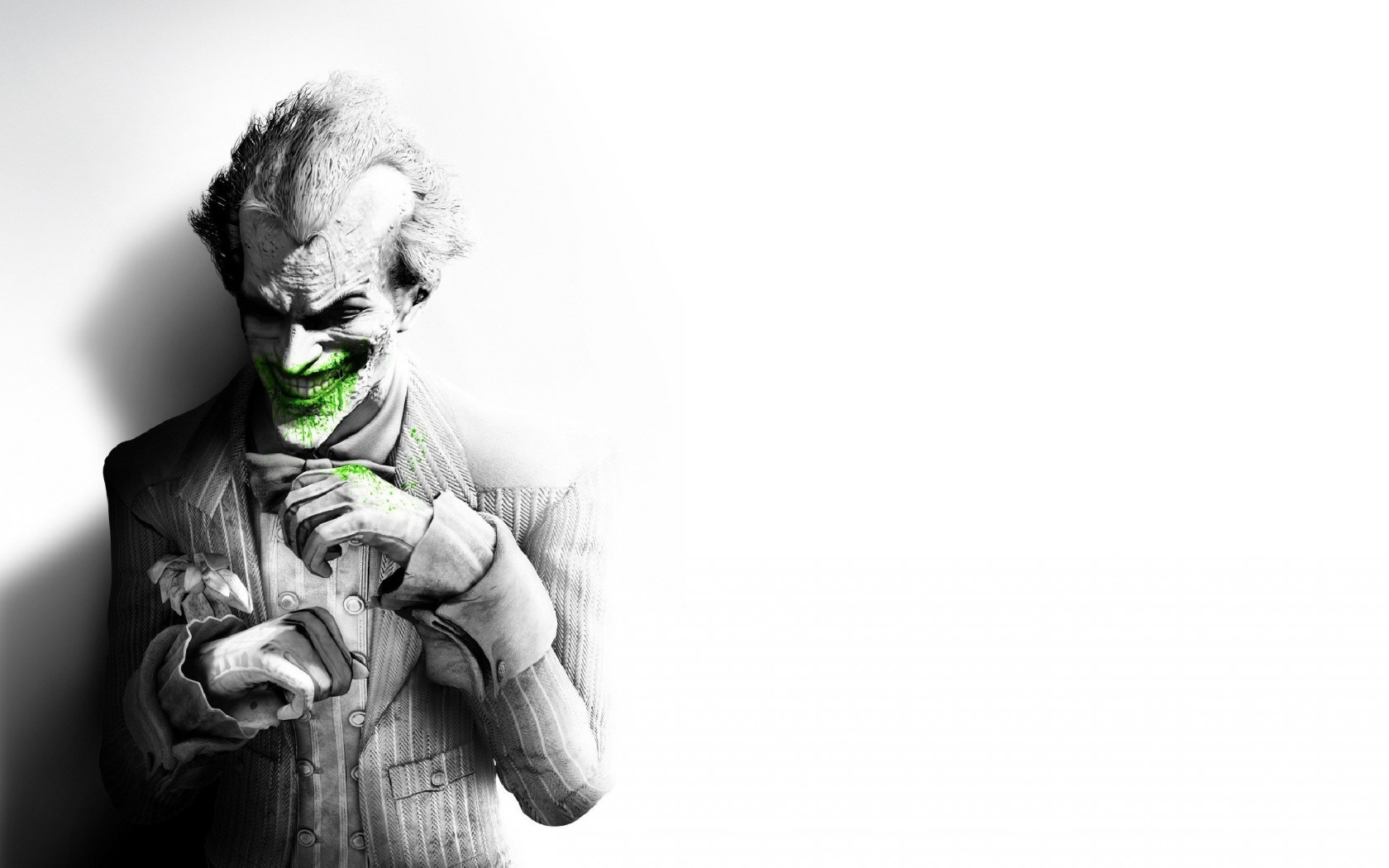 The Joker, Batman Arkham City Wallpaper for Desktop 1680x1050