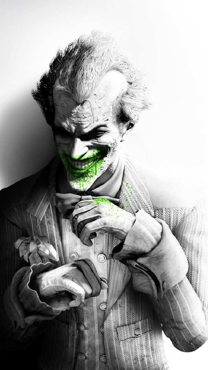 The Joker, Batman Arkham City Wallpaper for HTC One mini