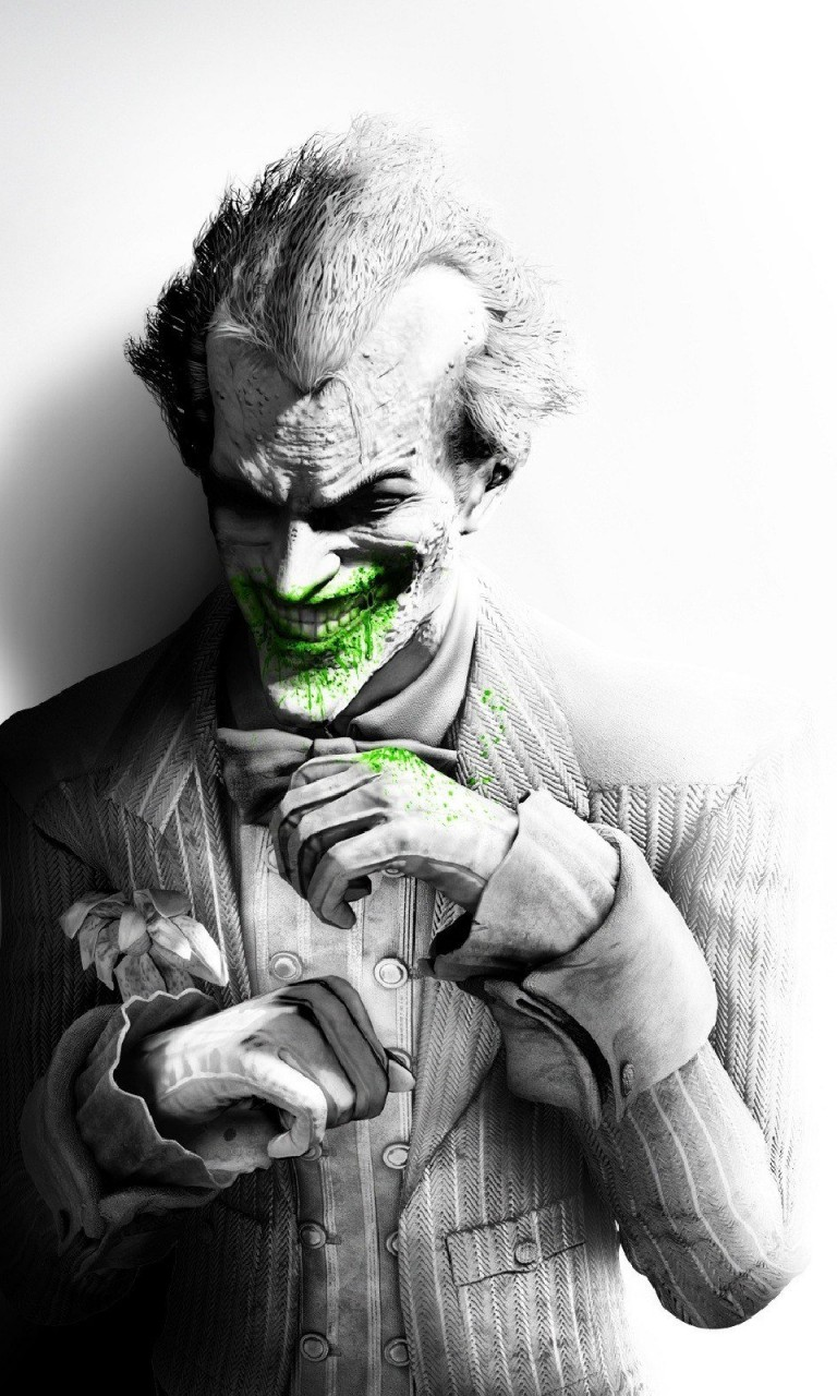 The Joker, Batman Arkham City Wallpaper for LG Optimus G