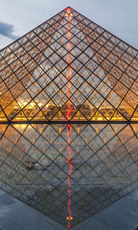 The Louvre Wallpaper for SAMSUNG Galaxy S3 Mini