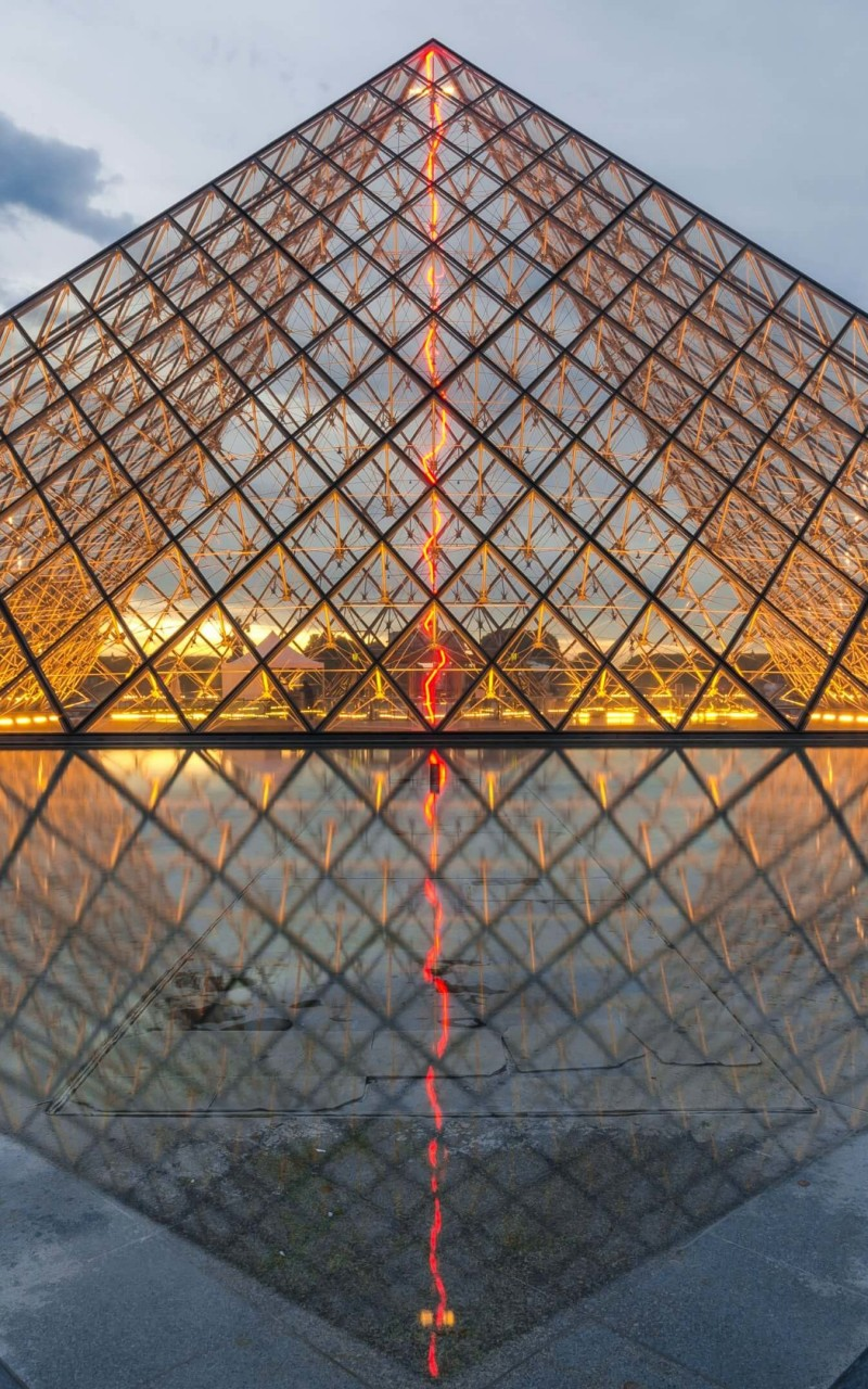 The Louvre Wallpaper for Amazon Kindle Fire HD