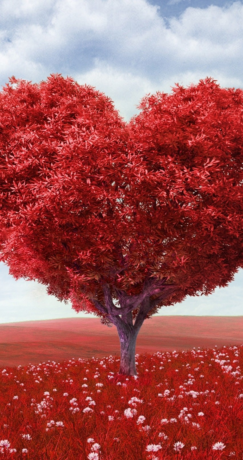 The Tree Of Love Wallpaper for Apple iPhone 6 / 6s