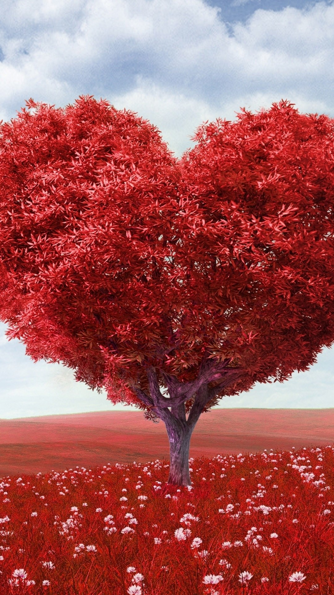 The Tree Of Love Wallpaper for SONY Xperia Z1