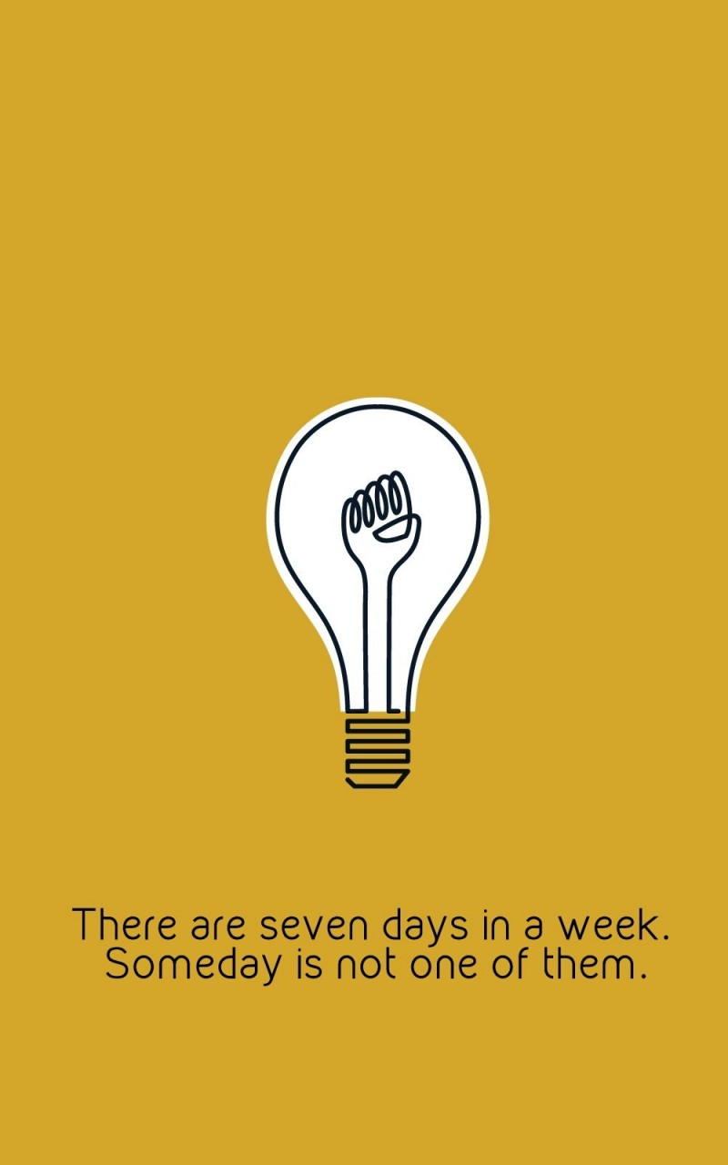 There are only 7 days in the week Wallpaper for Amazon Kindle Fire HD