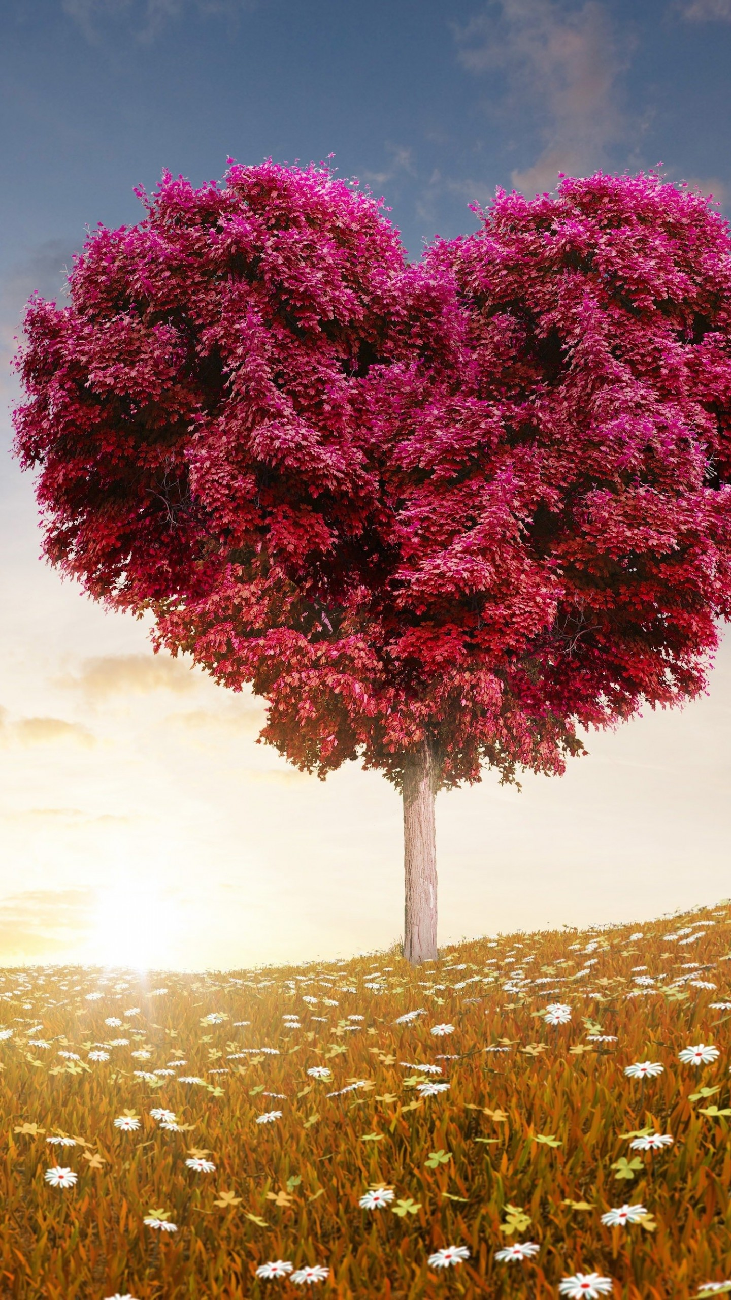 Tree Of Love Wallpaper for SAMSUNG Galaxy Note 4
