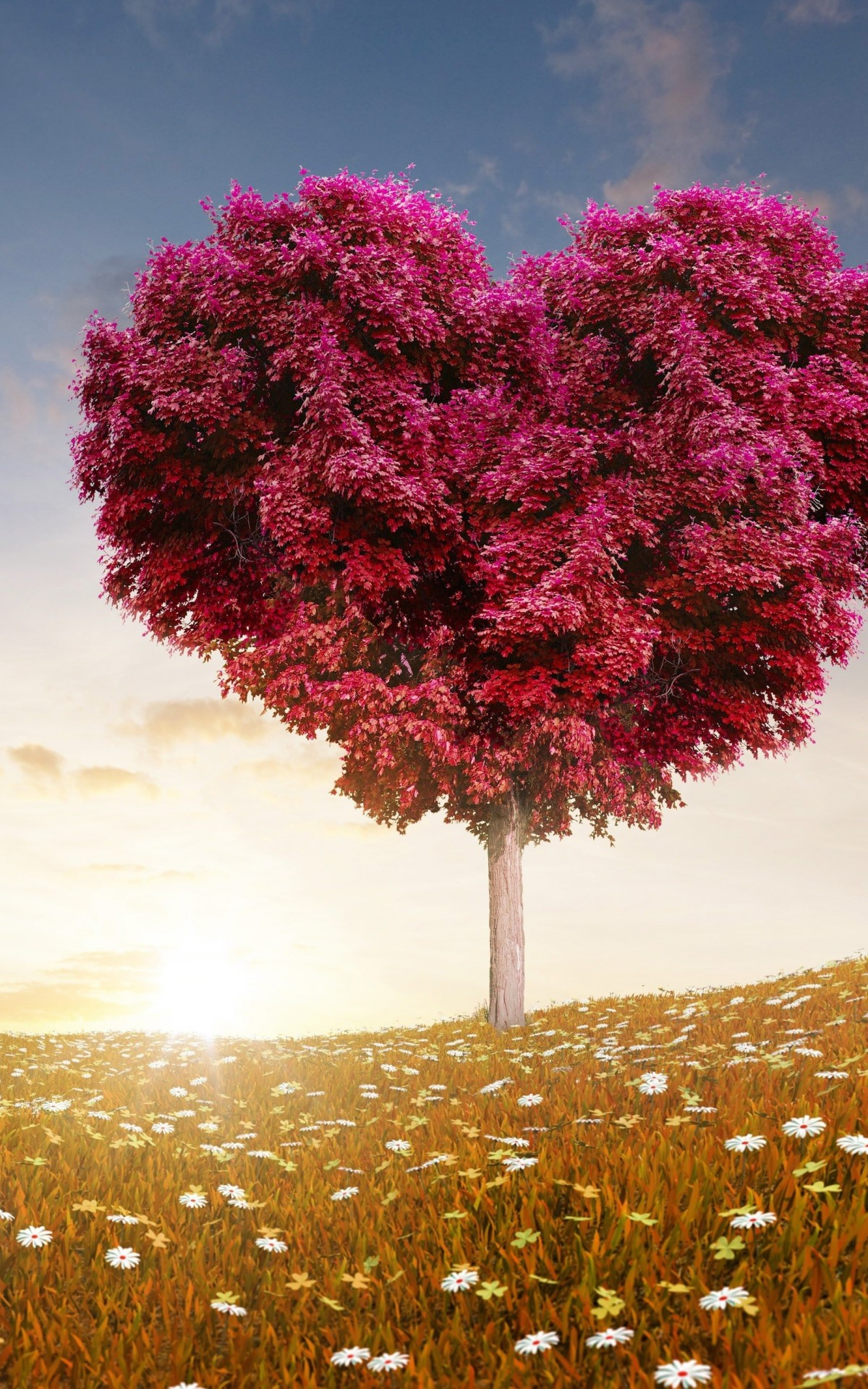 Tree Of Love Wallpaper for Amazon Kindle Fire HDX