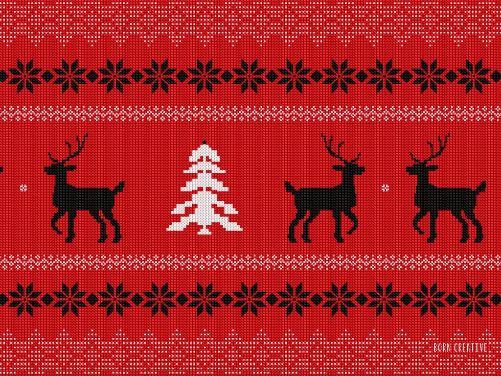 Ugly Christmas Sweater Wallpaper for Desktop 1024x768
