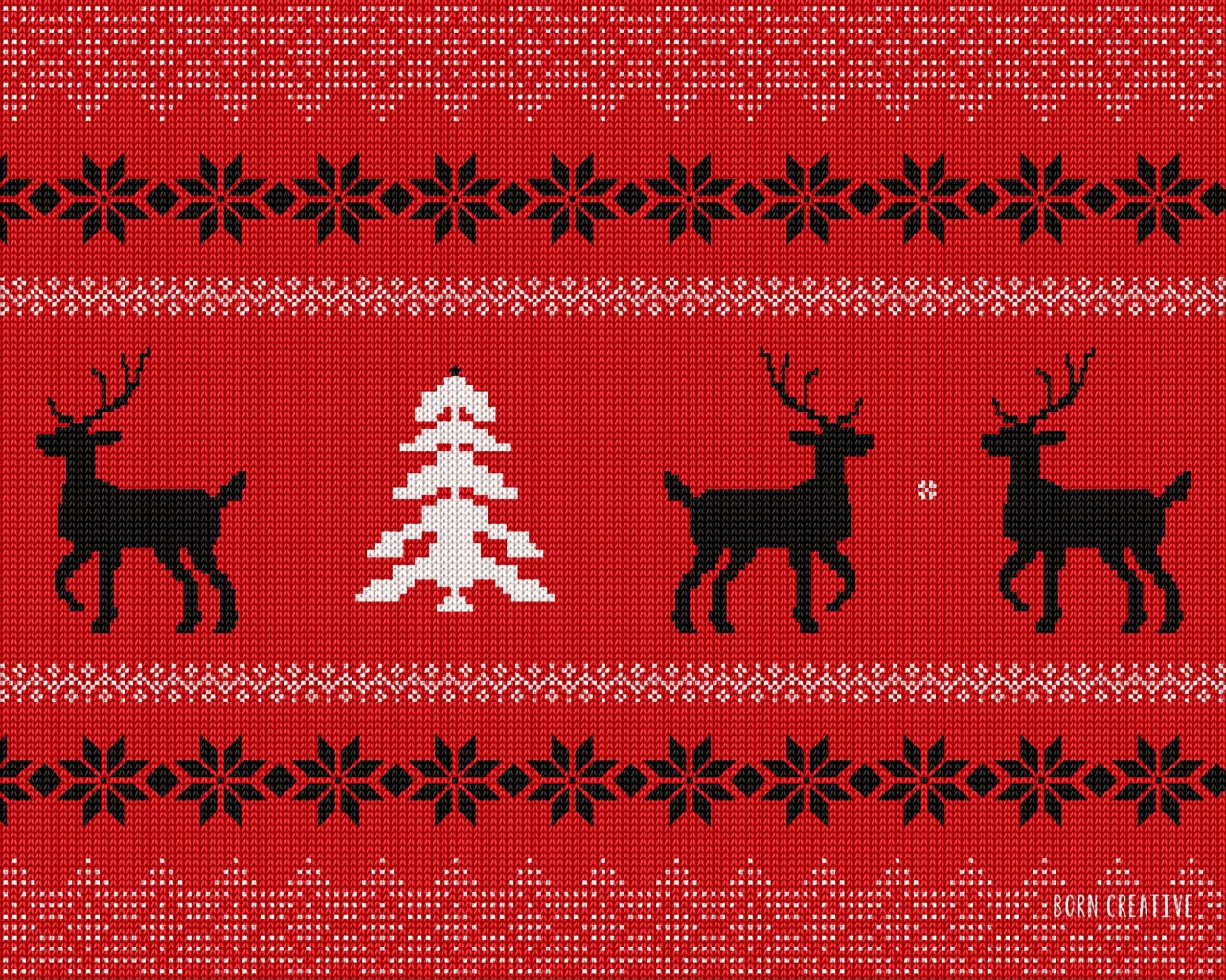 Ugly Christmas Sweater Wallpaper for Desktop 1280x1024