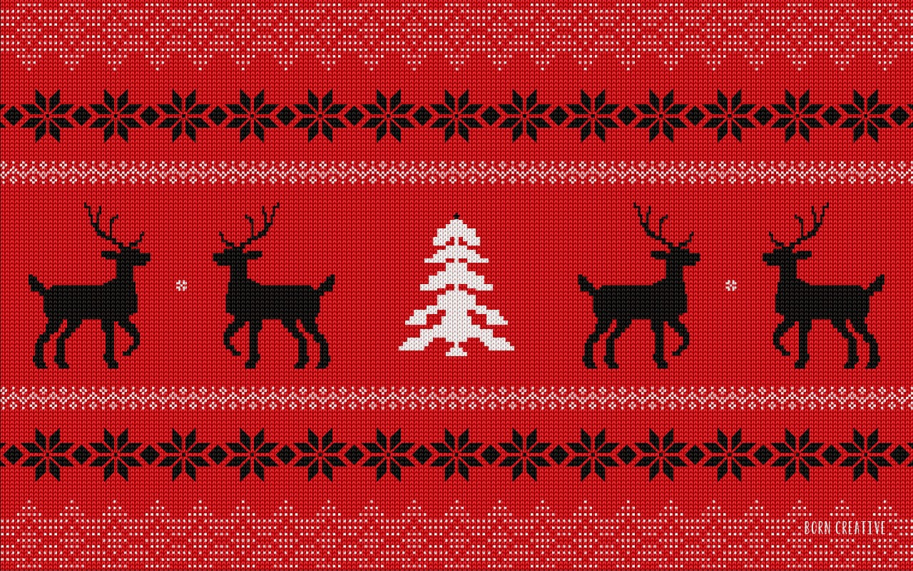 Ugly Christmas Sweater Wallpaper for Desktop 1280x800
