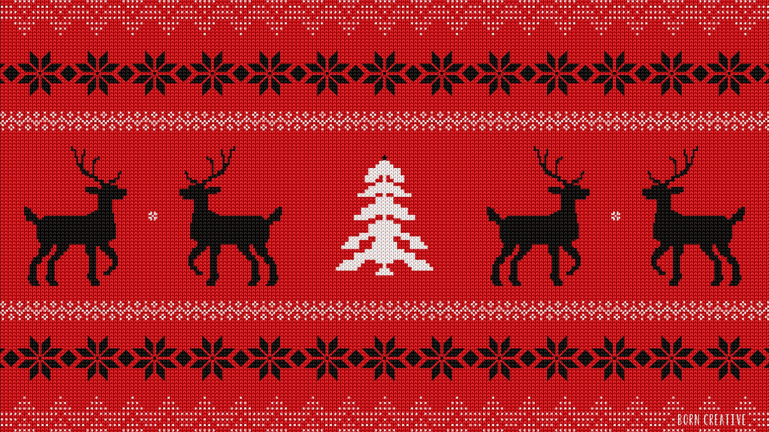 Ugly Christmas Sweater Wallpaper for Desktop 2560x1440