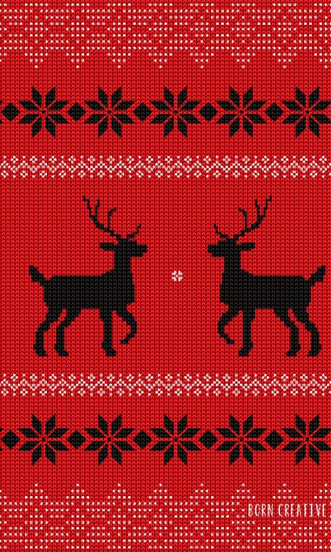 Ugly Christmas Sweater Wallpaper for SAMSUNG Galaxy S3 Mini