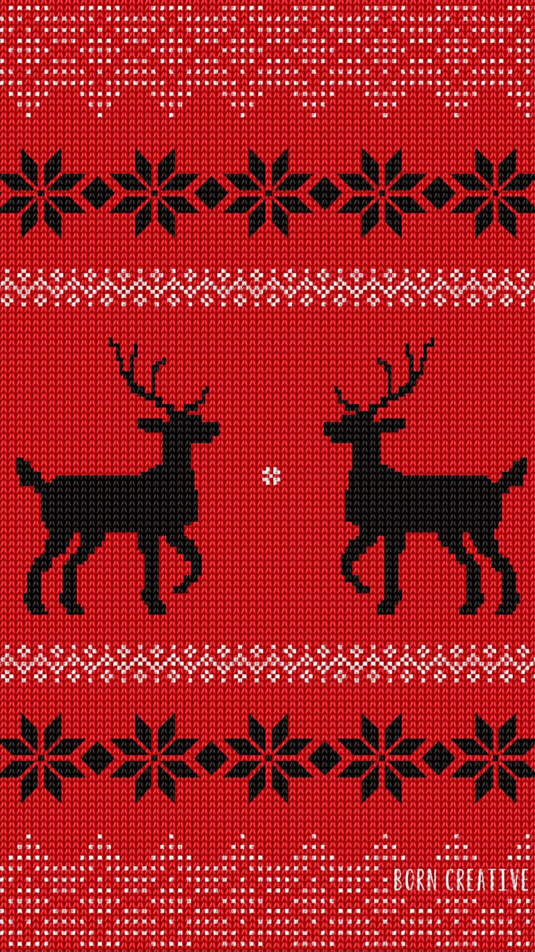 Ugly Christmas Sweater Wallpaper for HTC One