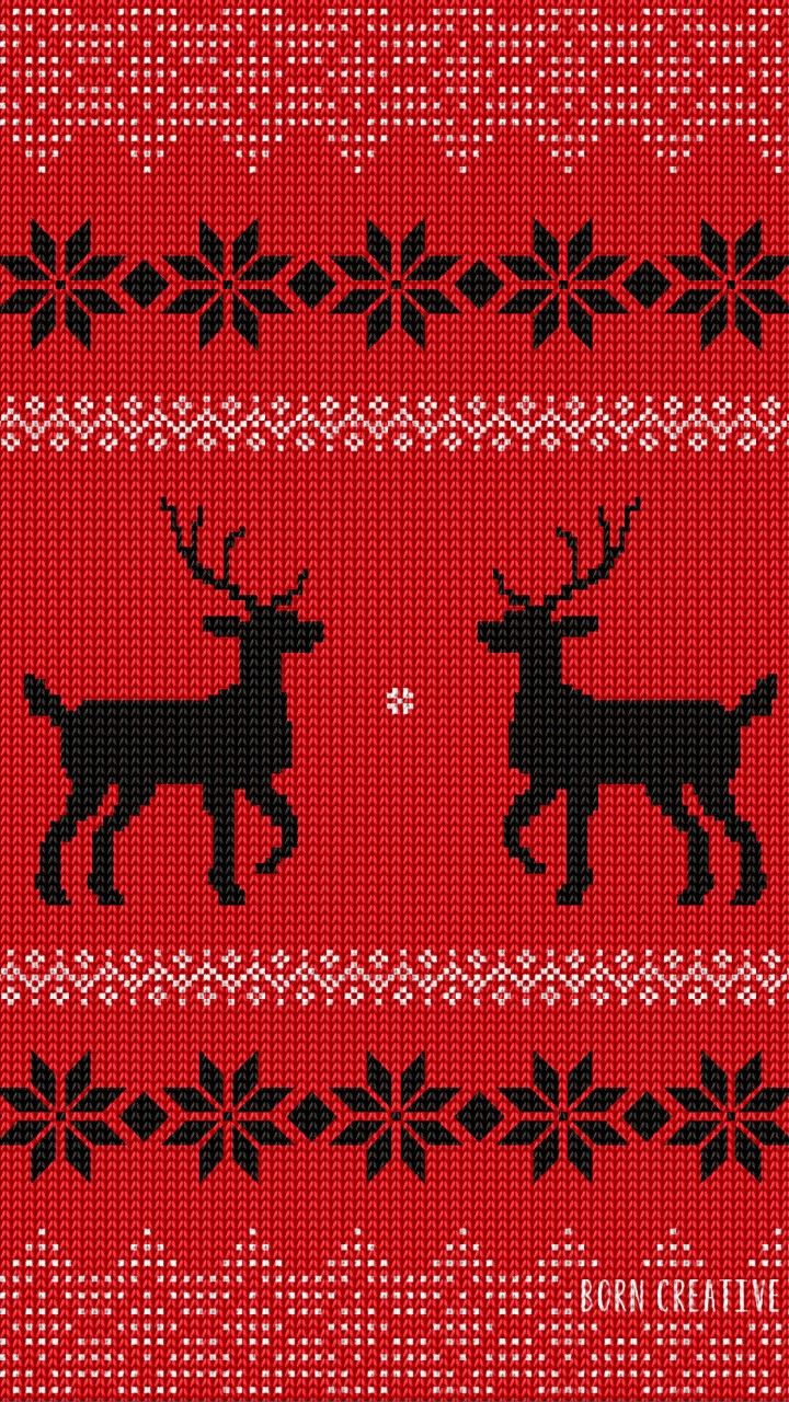 Ugly Christmas Sweater Wallpaper for HTC One mini