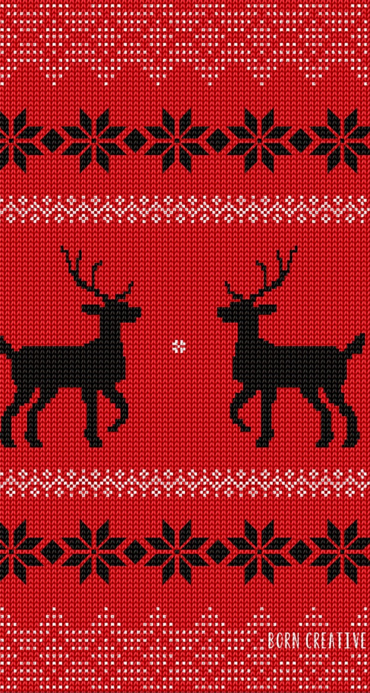 Ugly Christmas Sweater Wallpaper for Apple iPhone 5 / 5s