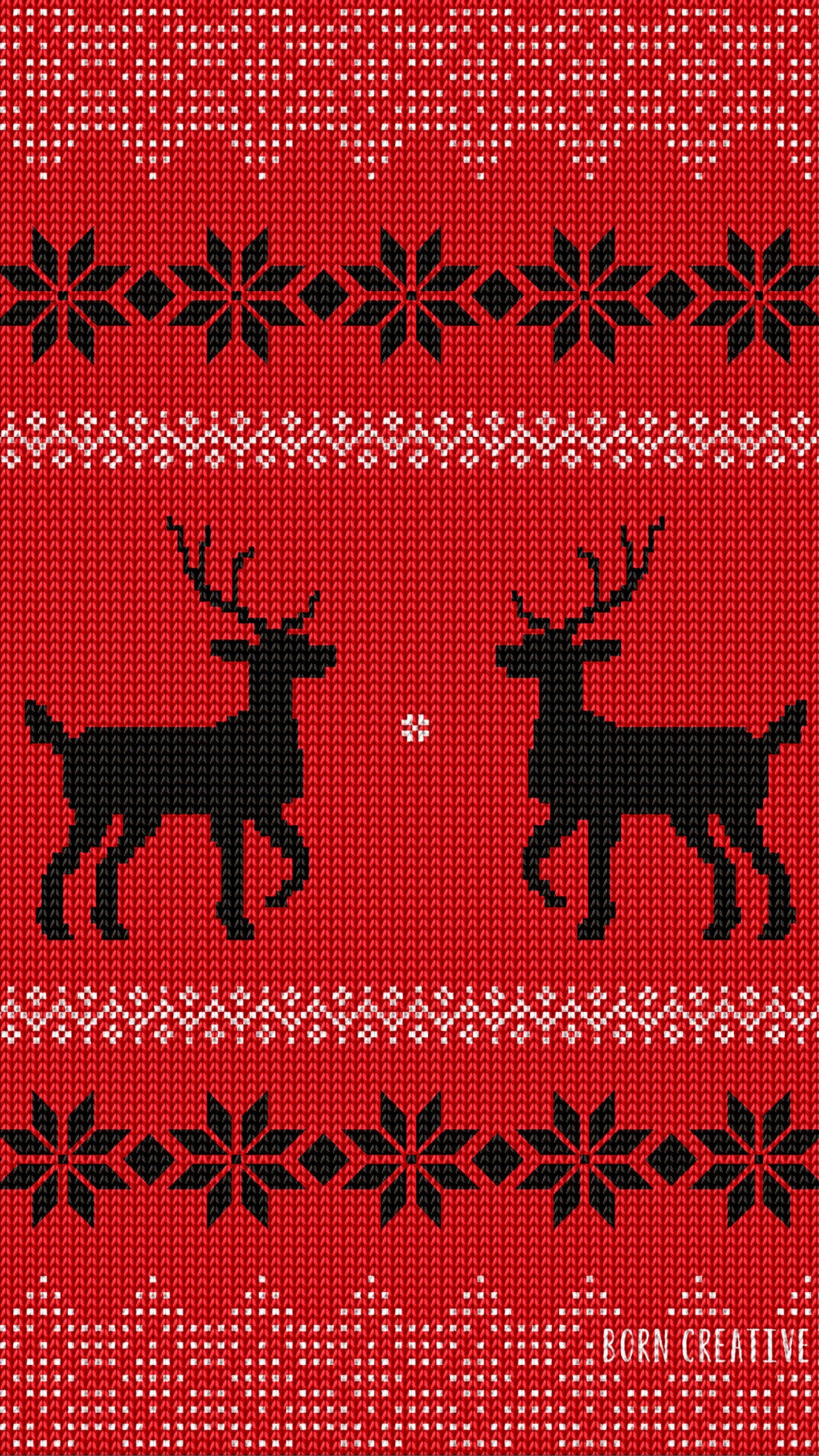 Ugly Christmas Sweater Wallpaper for LG G3