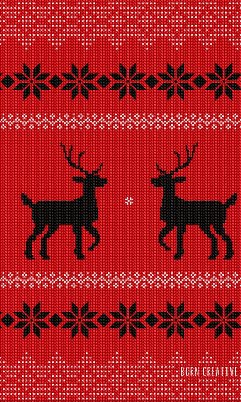 Ugly Christmas Sweater Wallpaper for LG Optimus G