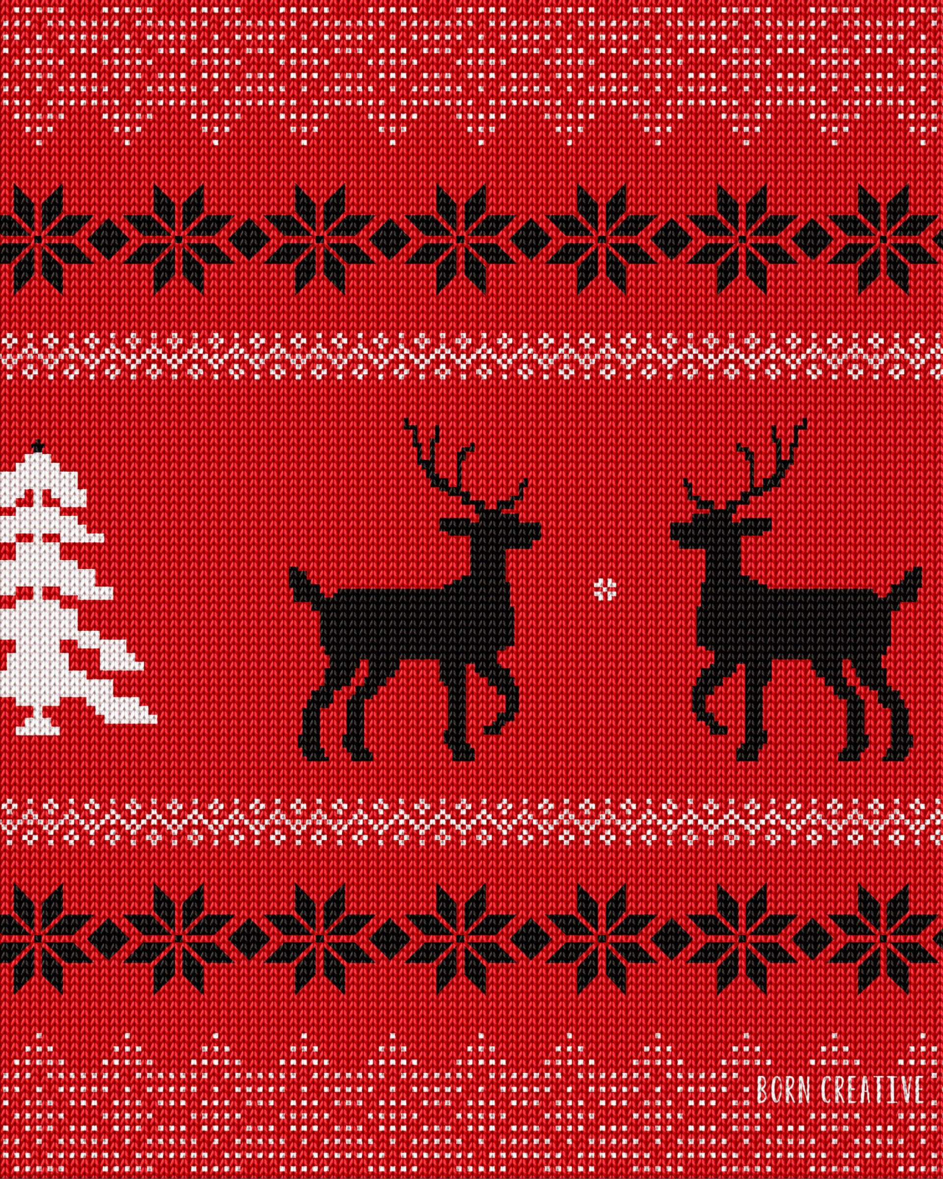 Ugly Christmas Sweater Wallpaper for Google Nexus 7