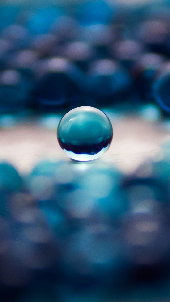 Water Balls Wallpaper for SAMSUNG Galaxy S3