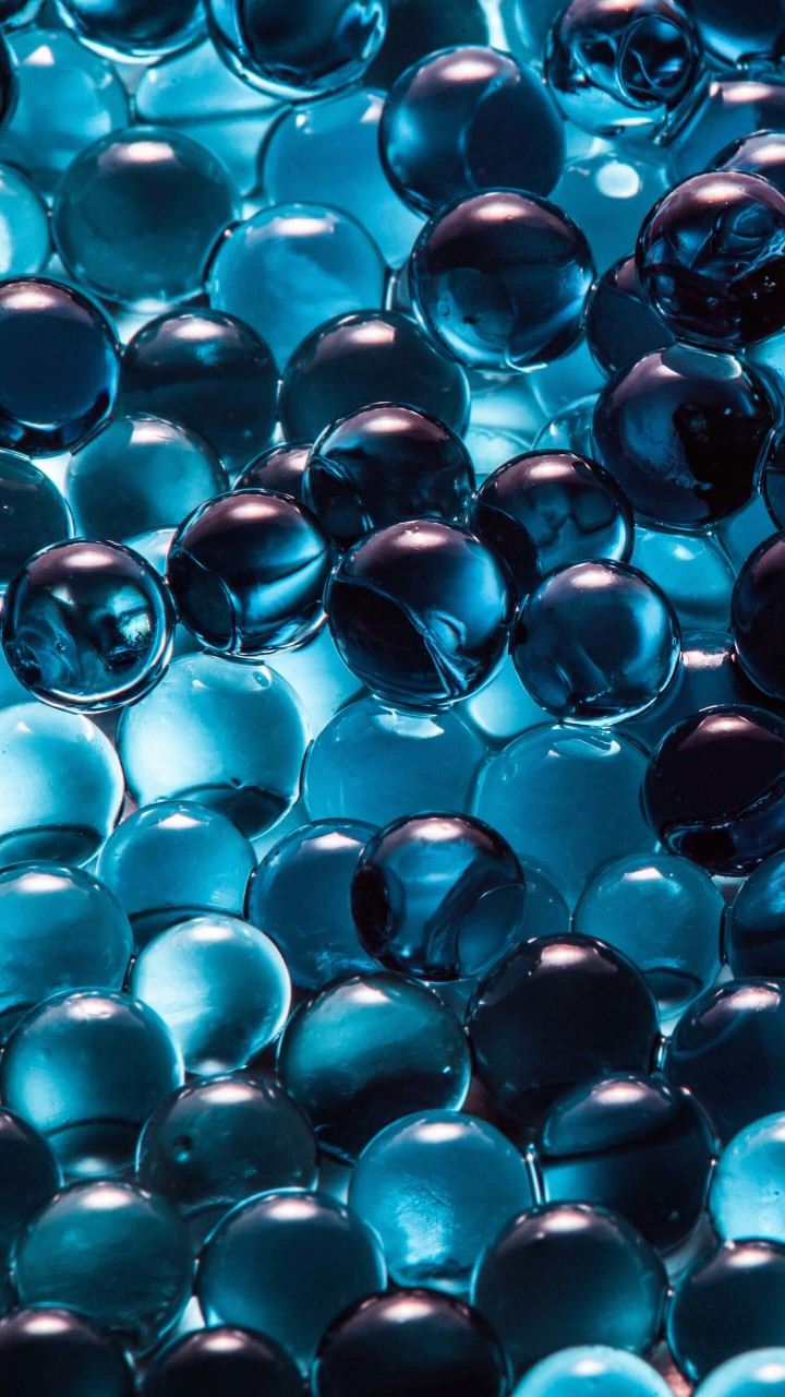Water Beads Wallpaper for SAMSUNG Galaxy S5 Mini